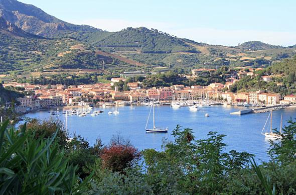 Elba, fager doldis i Medelhavet