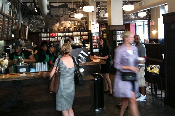 New Yorks bästa Starbucks?