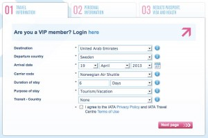 IATA ger plitlig information om visum p webben