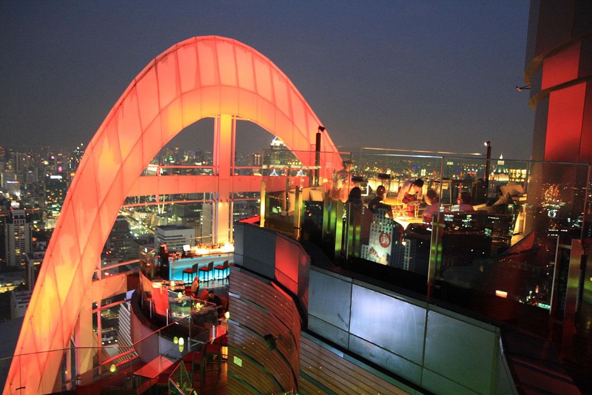 Red Sky takbarer Bangkok
