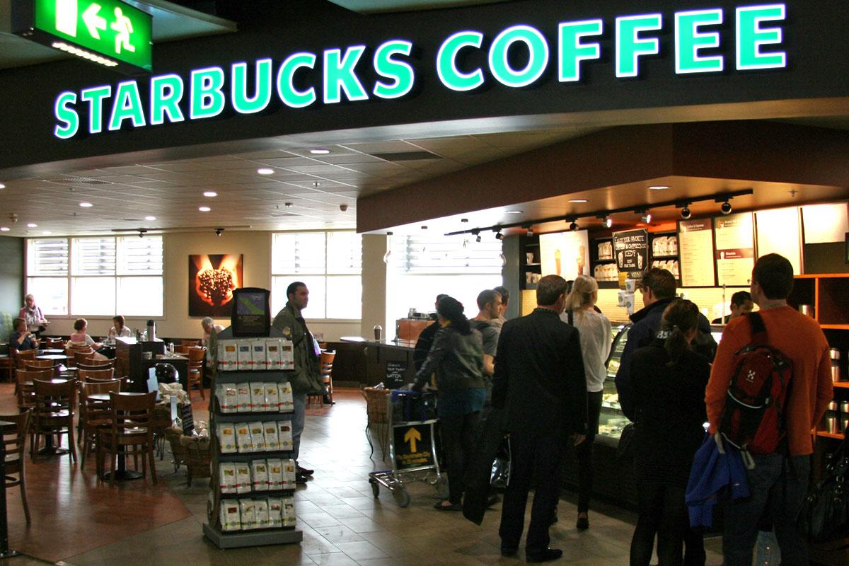 Två nya Starbucks till Arlanda