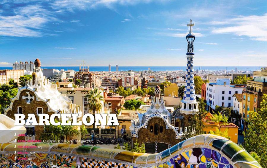 Vagabond Världens löpning Barcelona