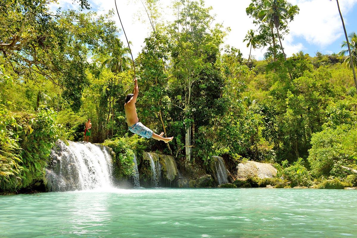 Cambugahay Falls (Foto: Flickr/m_kajo)