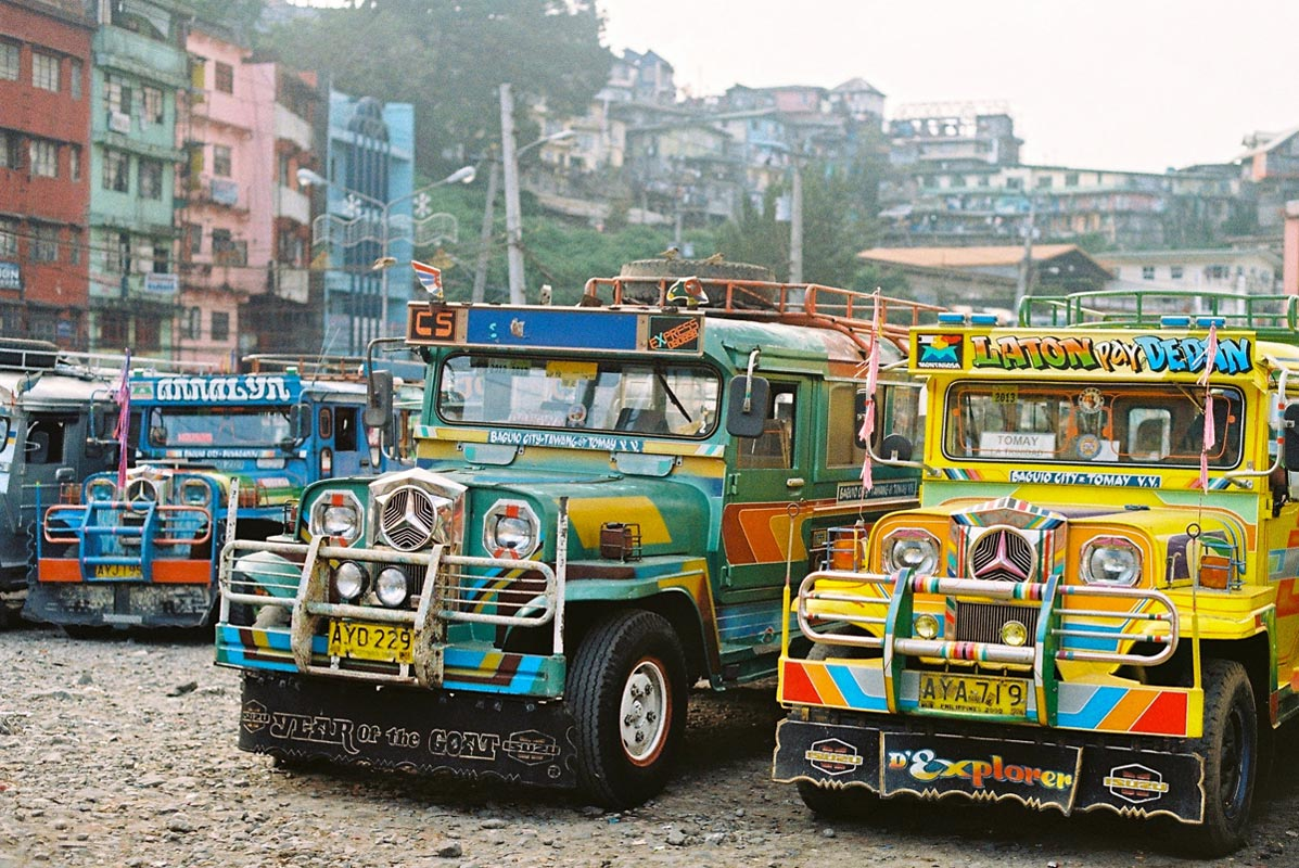 Jeepney (Foto: Flickr/ellenmunro)