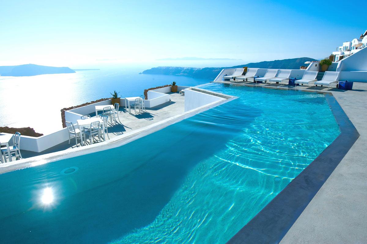 Santorini Grace Infinity Pool